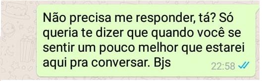 Como ajudar um amigo com depressão pelo WhatsApp